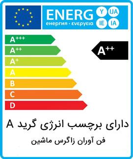برچسب انرژی دیگ بخار